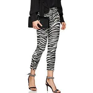 Isabel Marant Etoile Apolo Zebra Skinny Pants